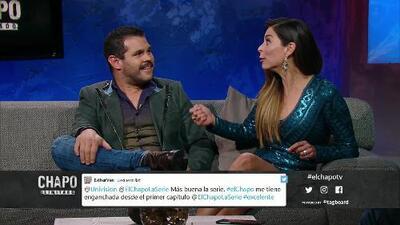 Marco de la O se quedó atorado en una cajuela durante la fuga de 'El Chapo' en la serie