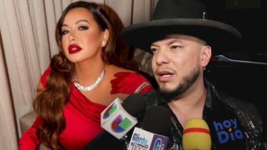 Lorenzo Méndez pide, visiblemente molesto, ya no se le pregunte nada relacionado con Chiquis