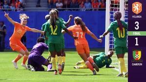 ¡Marcha perfecta! Holanda derrota a Camerún para afianzarse como líder del Grupo E