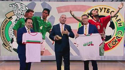 Orgulloso de su Bota de Oro, Stoichkov celebró los 25 años de la victoria de Bulgaria a México en USA 94