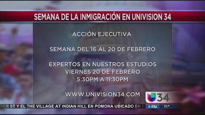 Univision lanza la semana de inmigración