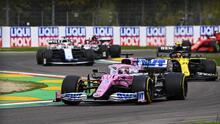 Críticas a Racing Point por estrategia con Sergio Pérez