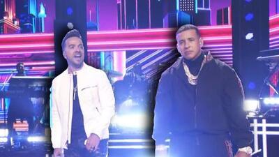 Mira cómo se vio 'Despacito' en el GRAMMY: el reencuentro de Luis Fonsi y Daddy Yankee