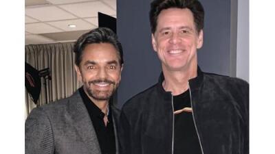 El épico encuentro de Eugenio Derbez con Jim Carrey