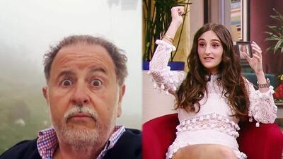 """Este fue el día que Mia de Molina pensó que su papá """"iba a morir"""" (y Raúl se llevó un gran susto)"""