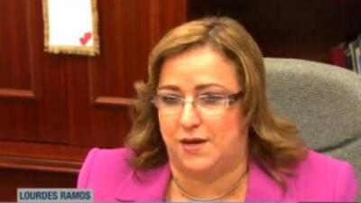 Lourdes Ramos recibe mensaje amenazante
