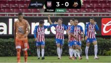 Resumen | Tapatío no tuvo piedad con Alebrijes y lo goleó 3-0