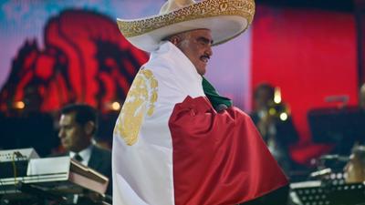 Vicente Fernández se despidió para siempre de los escenarios