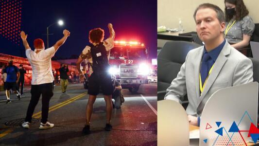 """""""Alguien va a quedar inconforme"""": Autoridades se preparan ante posibles protestas por el veredicto en el caso de asesinato de George Floyd"""