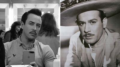 Jorge Gallegos se convertirá en Pedro Infante y su parecido es sorprendente