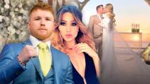 En video: la espectacular boda de Saúl 'Canelo' Álvarez y Fernanda Gómez en México