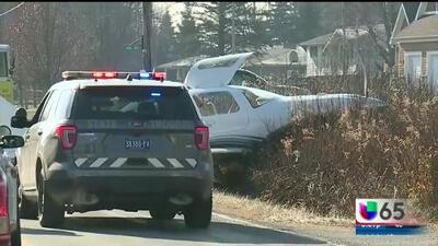 Avioneta particular se estrelló tras realizar un aterrizaje de emergencia