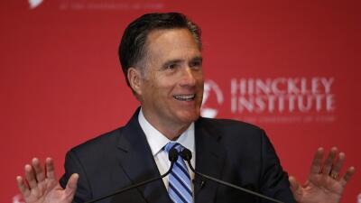"Text of Mitt Romney's speech attacking ""phony"" Trump"