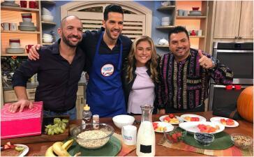 En fotos: los Cocineros Latinos llegaron en la hora más sabrosa de la televisión