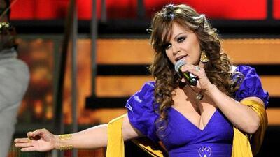 Jenni Rivera regresó a los escenarios gracias a la tecnología y su familia estuvo presente