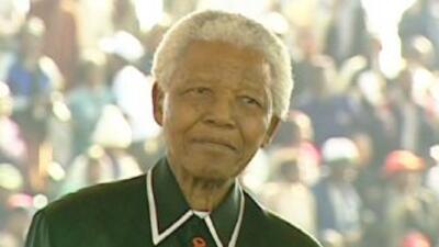 La exesposa de Nelson Mandela destacó su mejoría