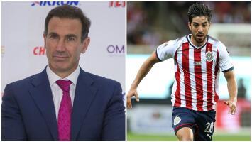 """Francisco Gabriel de Anda: """"Rodolfo Pizarro, en este momento, es jugador de Chivas"""""""