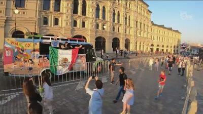 El Diario de Ana Caty dedicó una página a la fiesta mexicana en Rusia tras vencer a Alemania