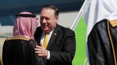 En un minuto: Trump envía a Pompeo a Arabia Saudita para tratar la desaparición de Khashoggi