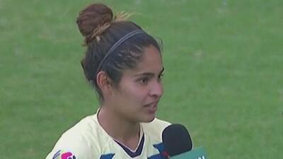"""Daniela Espinosa: el rival que sea, """"vamos con todo"""""""