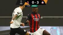 Lille terminó con la racha del AC Milán