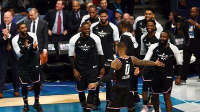 El Team LeBron remonta al Team Giannis y se adjudica el NBA All Star Game 2019
