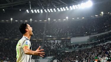 Cristiano Ronaldo, descartado para visitar al Atalanta