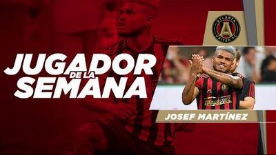 Sin discusión: Josef Martínez es el Jugador de la Semana 23 en MLS