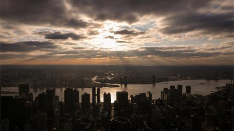 Nueva York tendrá una mañana de jueves fresca y nublada con la posibilidad de lluvias en la tarde