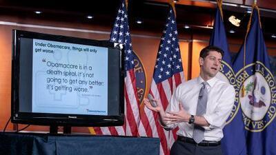 Unas 14 millones de personas perderán su seguro en 2018 si es reemplazado Obamacare