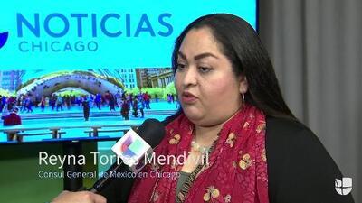 En video: Cónsul de México en Chicago habla sobre la muerte de un inmigrante bajo custodia de ICE