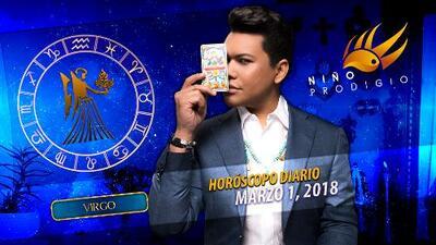 Niño Prodigio - Virgo 1 de marzo 2018