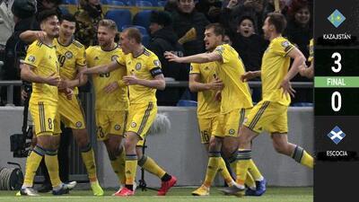 ¡A lo Golovkin! Kazajistán sorprende con KO a Escocia