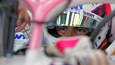 Incertidumbre para 'Checo' Pérez previo al GP de España