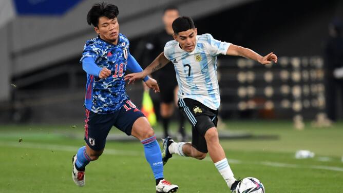 Aficionado japonés apoyaba a Argentina y fue echado del Estadio en Tokio