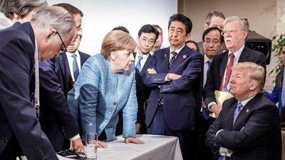 Trump amenaza con dejar de comerciar con los aliados del G7 si no eliminan sus aranceles