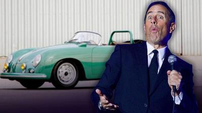 Jerry Seinfeld demandado por vender Porsche clásico falsificado
