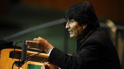 """Evo Morales cataloga de """"golpe de Estado"""" las acciones de Guaidó en Venezuela y pide un diálogo en el país"""