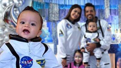Con una fiesta fuera de este mundo, Ana Patricia celebró el primer año de su bebé Gael