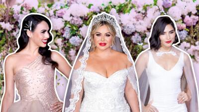 En fotos: Chiquis Rivera, Alejandra Espinoza y Marisela de Montecristo desfilan vestidas de novia, pero no al altar