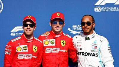 Charles Leclerc se queda con la pole del GP de Bélgica