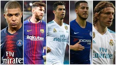 ¡Señores golazos! Cinco nominados al Mejor Jugador FIFA 2018 nos dejaron estas 'pinturas'