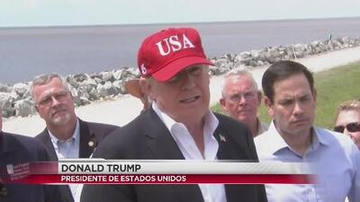 Presidente Trump amenaza con cerrar la frontera con México