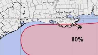 Houston se prepara para la eventual llegada de tormentas asociadas al temporal en el Golfo de México