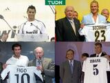 Florentino Pérez tiene los 18 fichajes más caros del Real Madrid