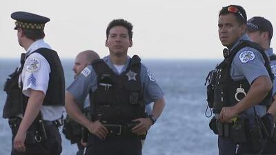 Dos adolescentes resultan heridos en una balacera en una playa de Chicago