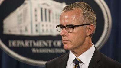 Congresistas de ambos partidos cuestionan la forma en que fue despedido el exsubdirector del FBI Andrew McCabe