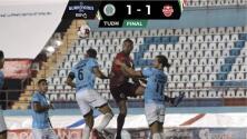 Resumen | Cancún y Mineros de Zacatecas  repartieron puntos con un 1-1 en la Liga BBVA Expansión MX