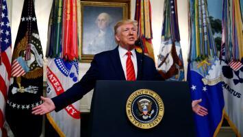 """""""Abu Bakr al-Baghdadi está muerto"""": Trump confirma que fuerzas de EEUU acabaron con el líder de ISIS"""