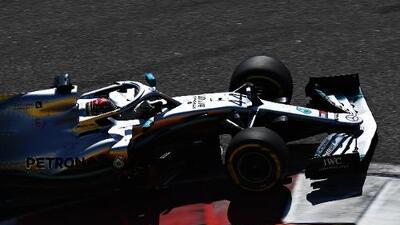 Lewis Hamilton se robó la victoria en el GP de Rusia